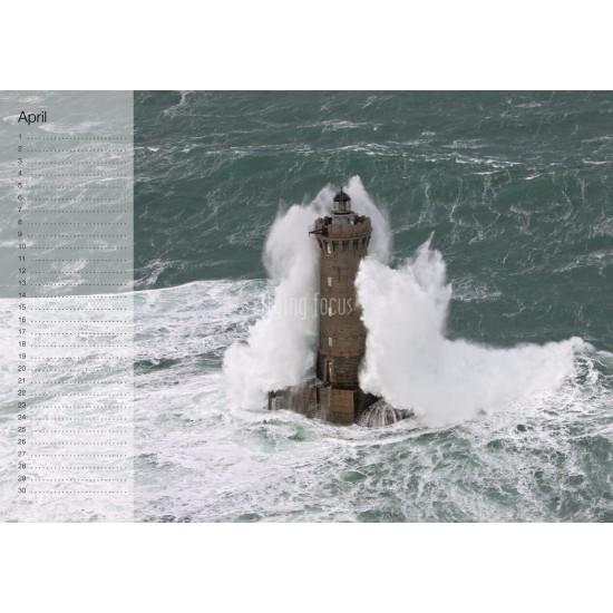 Lighthouse Birthday Calendar Flying Focus