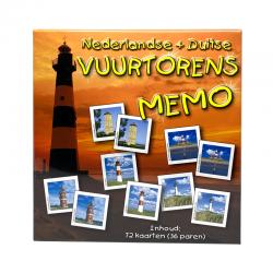 Vuurtorens Memo, Nederlandse + Duitse